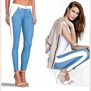 7 For All Mankind Side Striped Jeans